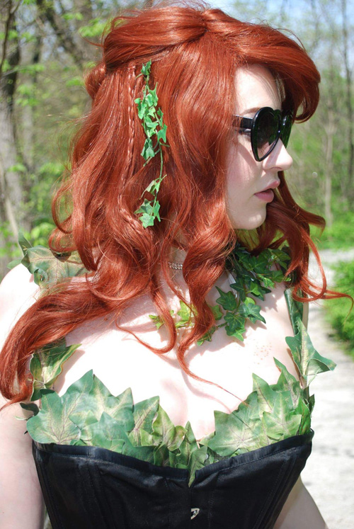 Vintage Inspired Poison Ivy Cosplay