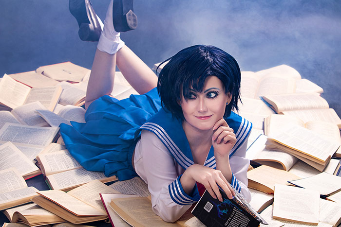 Ami Mizuno from Sailor Moon Cosplay