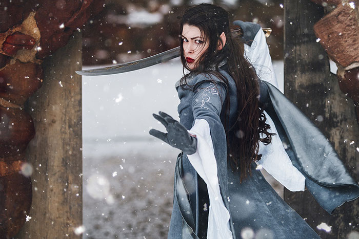 Arwen from The Lord of the Rings Cosplay