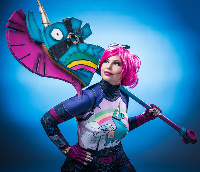 Brite Bomber from Fortnite Cosplay
