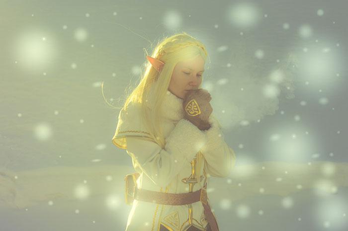 Zelda from The Legend of Zelda: Breath of the Wild Cosplay