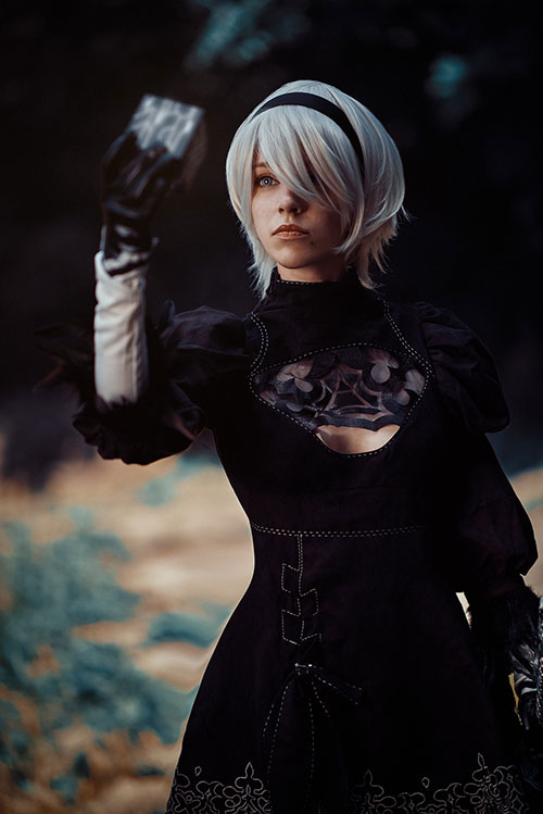 2B from Nier: Automata Cosplay