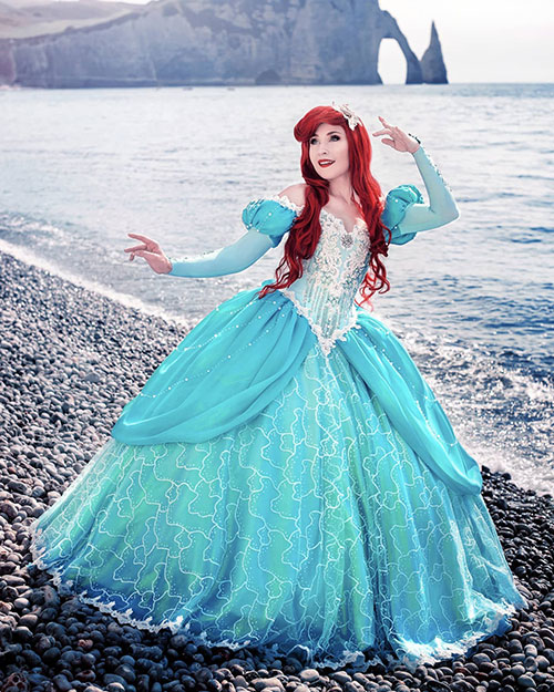 Ariel from The Little Mermaid Cosplay