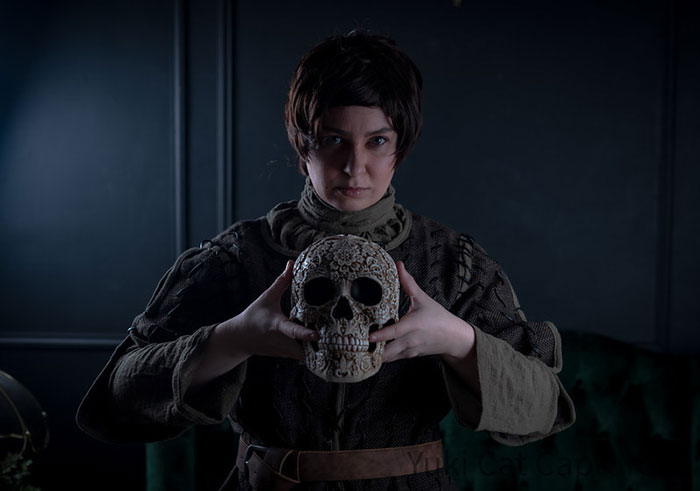 Arya Stark from Game of Thrones Cosplay