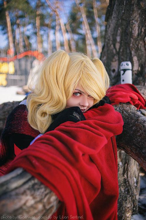 Winter Harley Quinn Cosplay