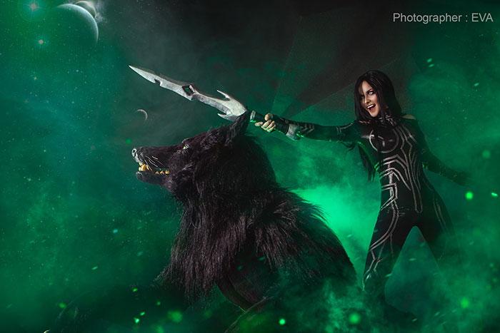 Hela & Fenris from Thor: Ragnarok Cosplay