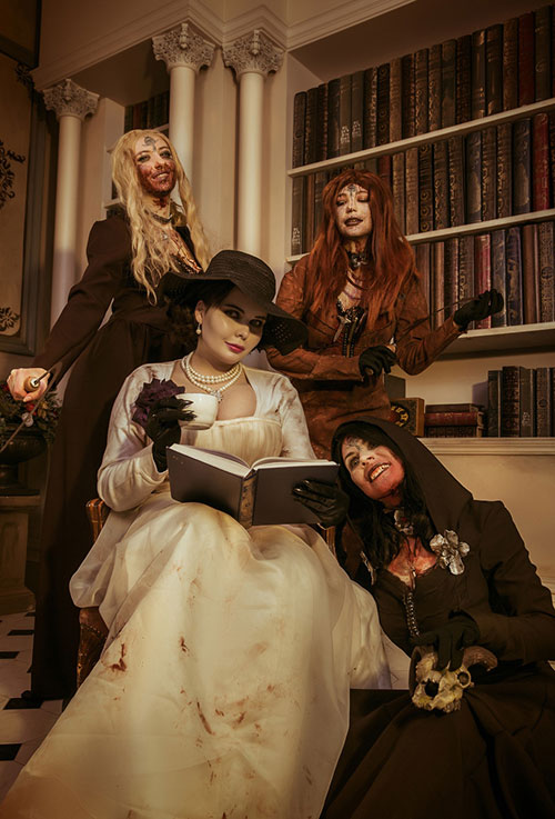 Lady Dimitrescu & Her Daughters From Resident Evil Village Cosplay
