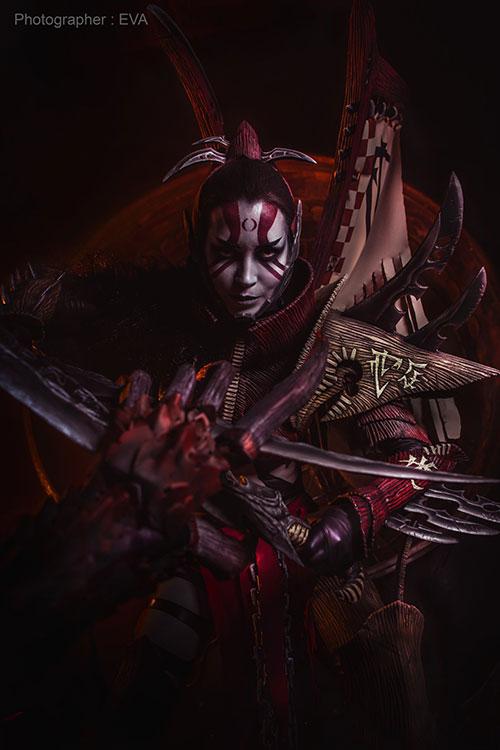 Dark Eldar from Warhammer 40,000 Cosplay