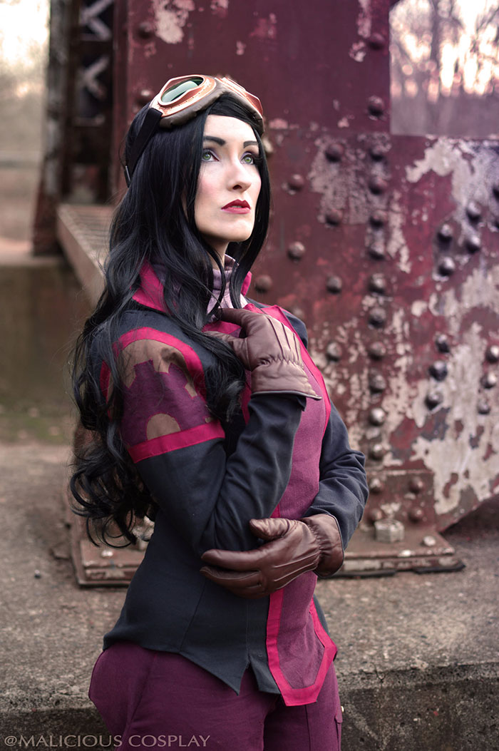 Asami Sato from The Legend of Korra Cosplay