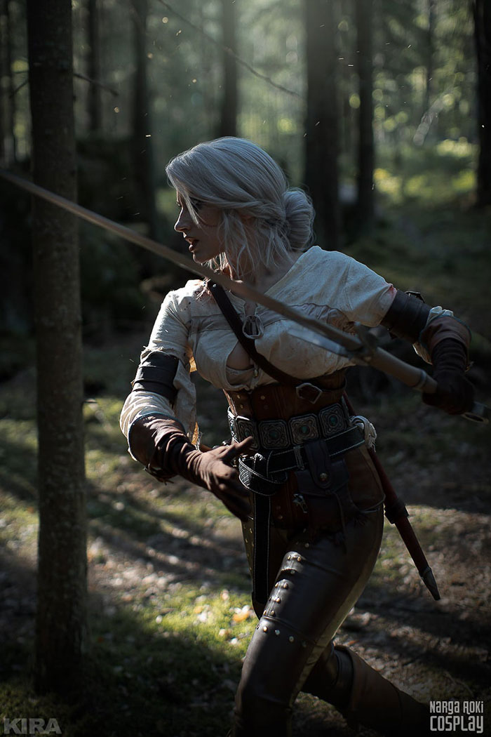 Ciri from The Witcher 3 : Wild Hunt Cosplay