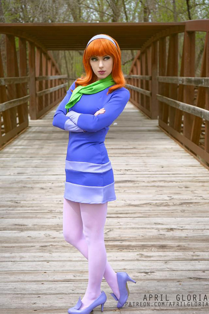 Daphne from Scooby-Doo Cosplay