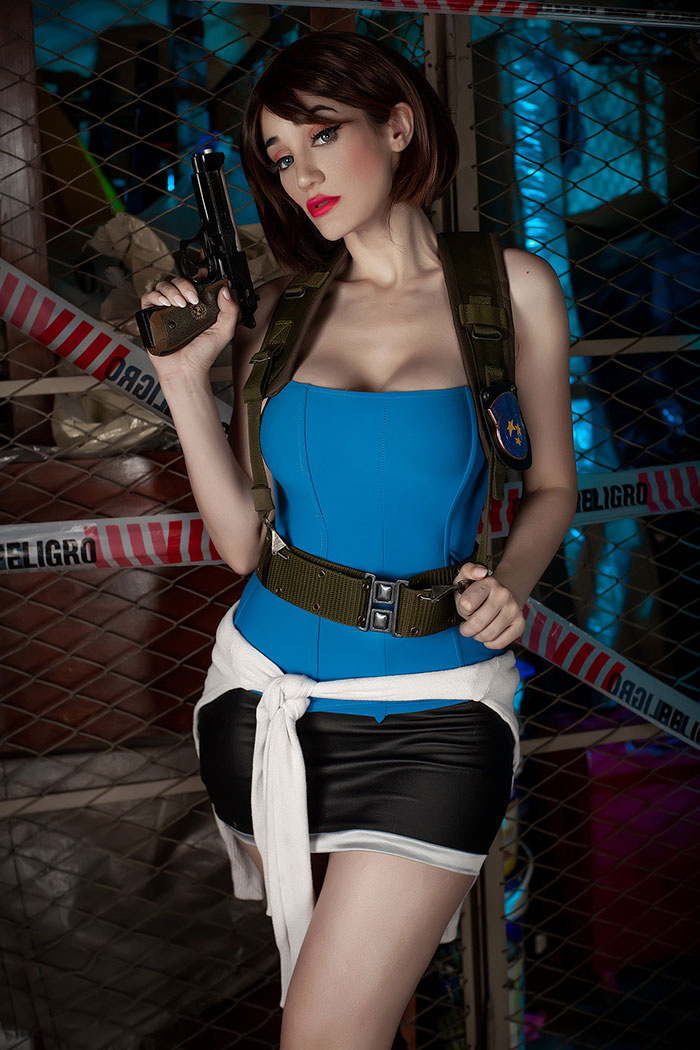 Jill Valentine from Resident Evil 3 Cosplay