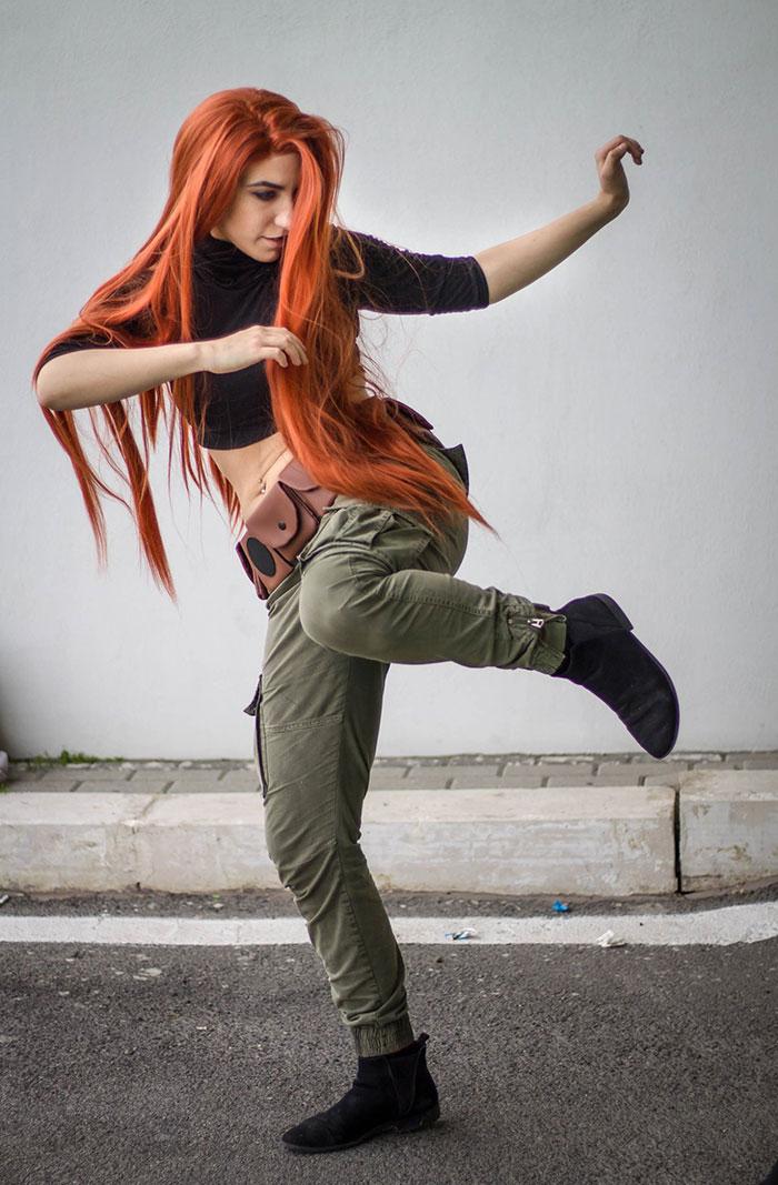 Kim Possible & Shego Cosplay
