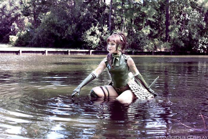 Lizard Girl from Monster Girl Encyclopedia Cosplay
