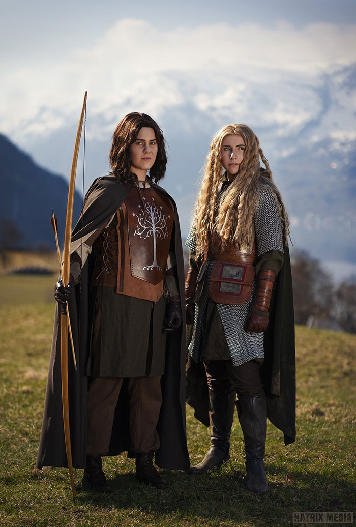 Eowyn and Faramir from The Lord of the Rings Cosplay