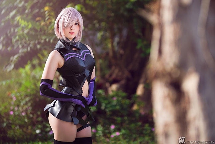 Mashu Kyrielight from Fate/Grand Order Cosplay