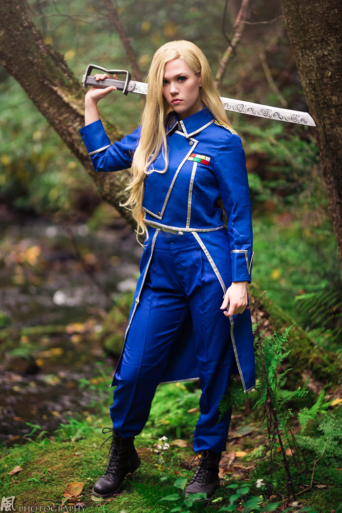 Oliver from Fullmetal Alchemist Cosplay