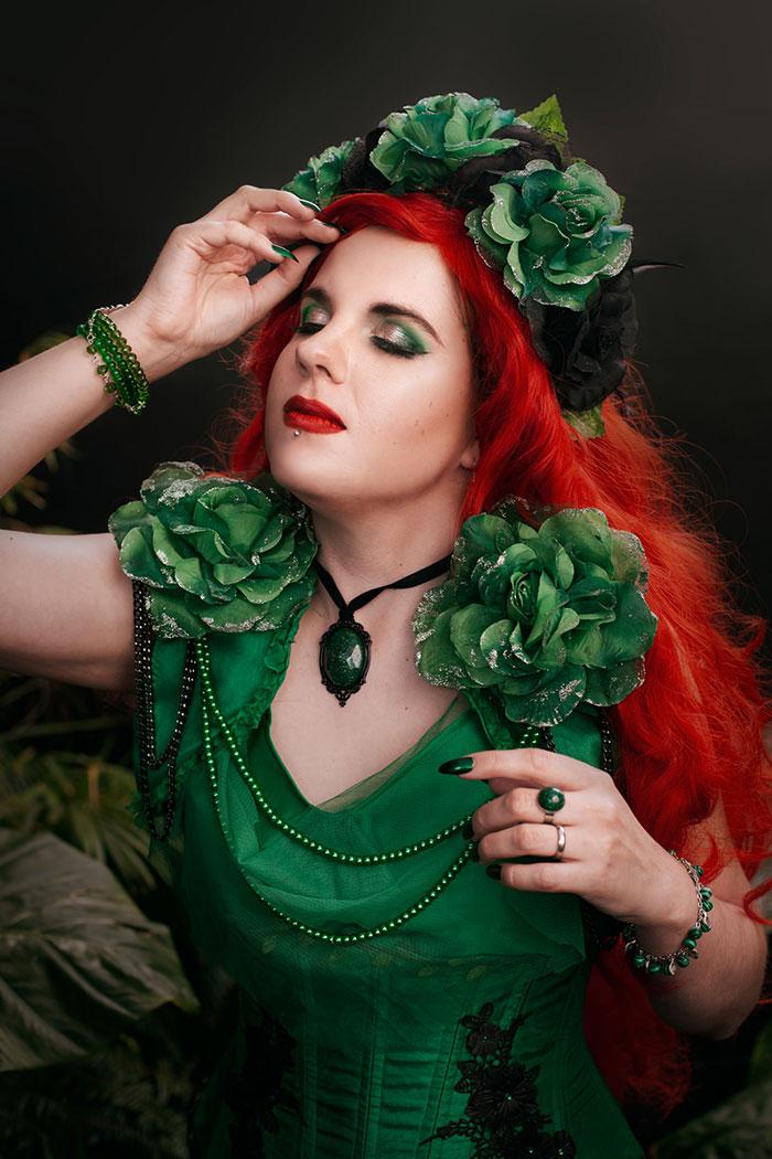 Romantic Poison Ivy Cosplay