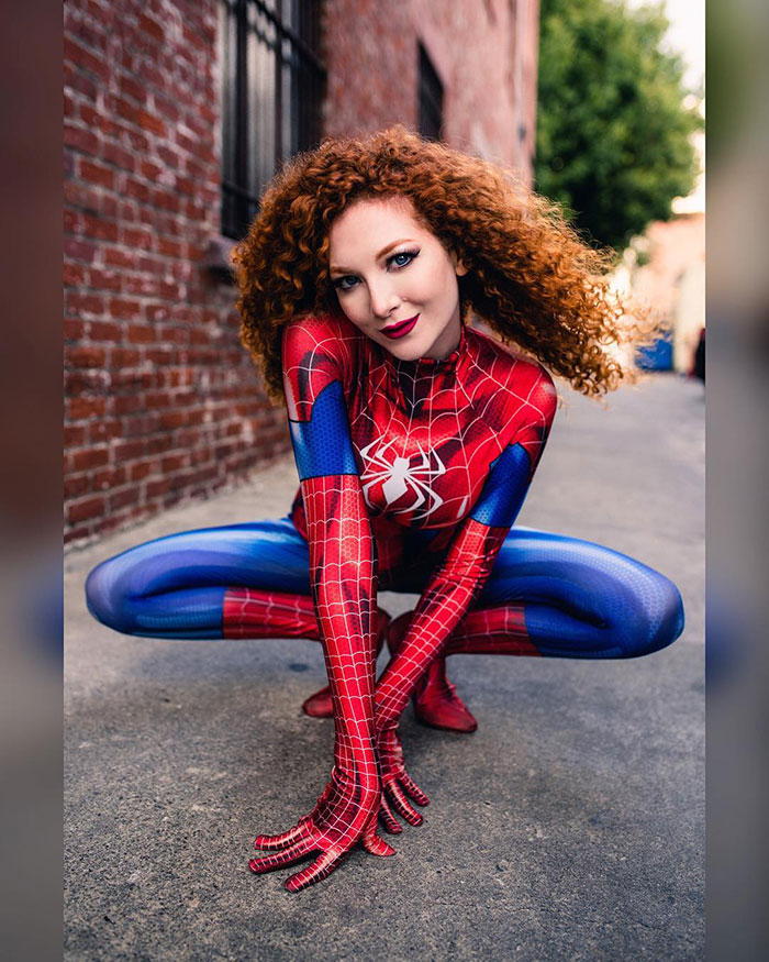 Spider Mary Jane Cosplay