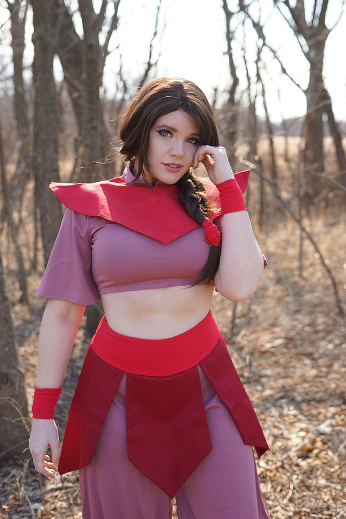 Ty Lee from Avatar: The Last Airbender Cosplay