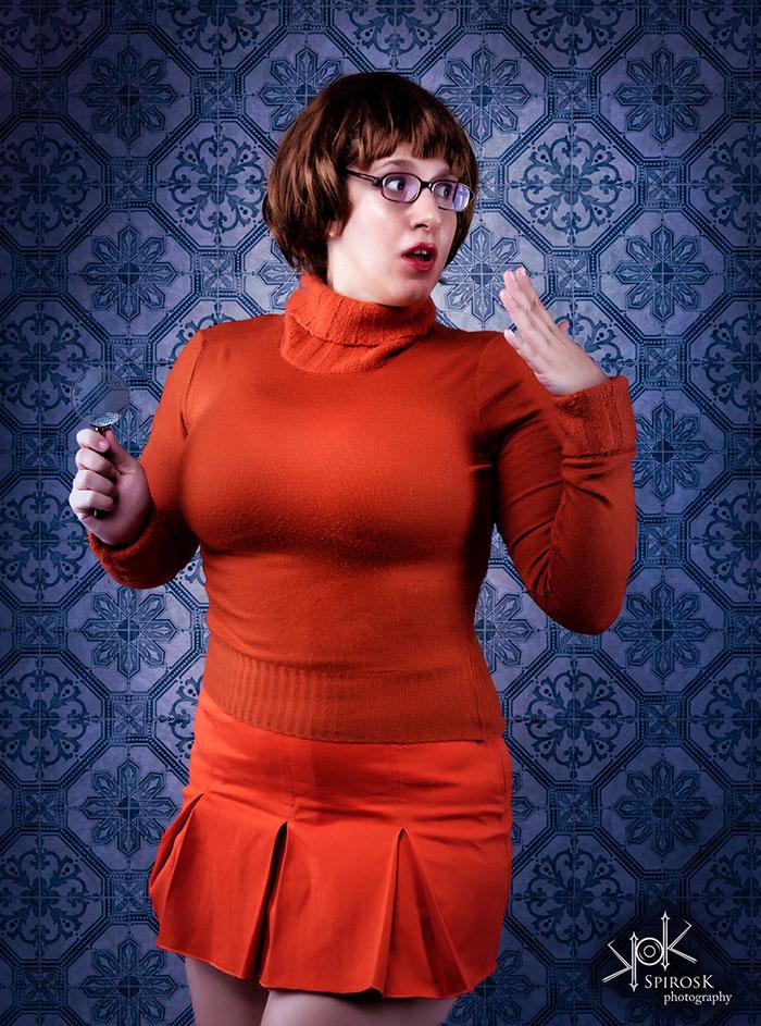 Velma from Scooby-Doo Cosplay
