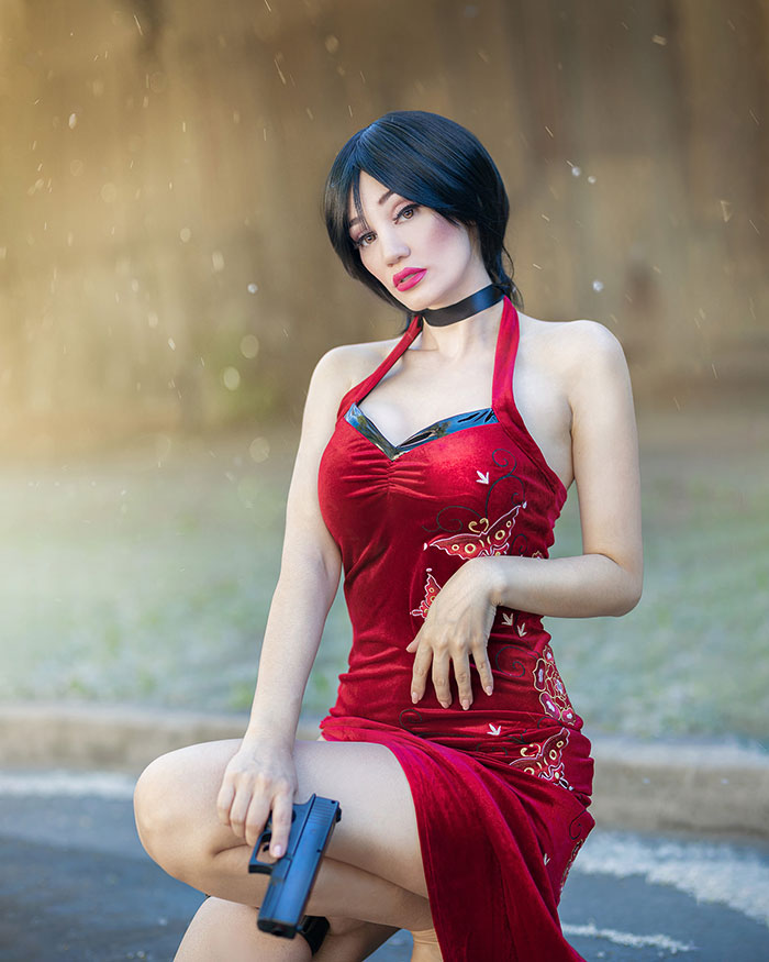 Ada Wong from Resident Evil Cosplay