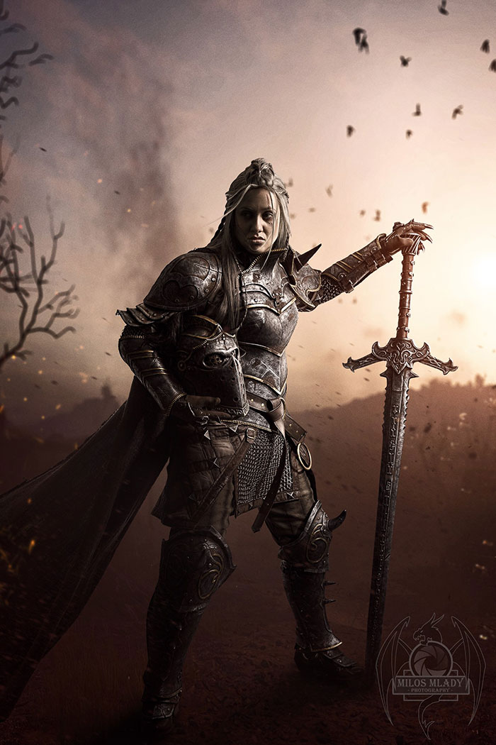 Apollyon from For Honor Cosplay