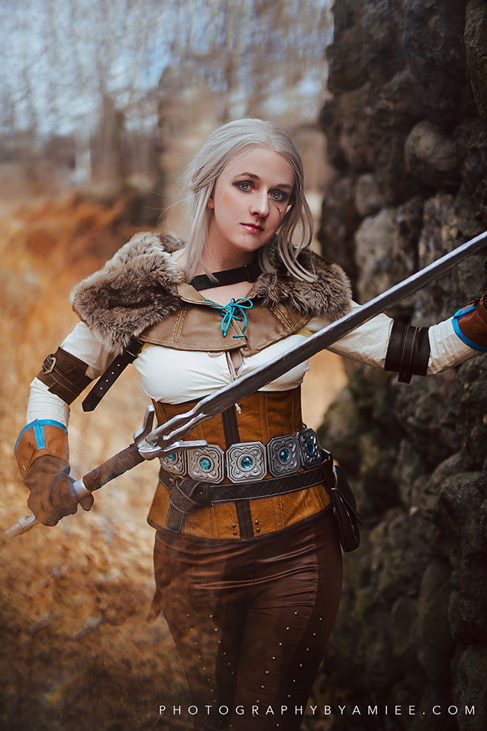 Ciri from The Witcher 3: Wild Hunt Cosplay