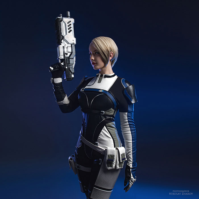 Cora Harper from Mass Effect: Andromeda Cosplay