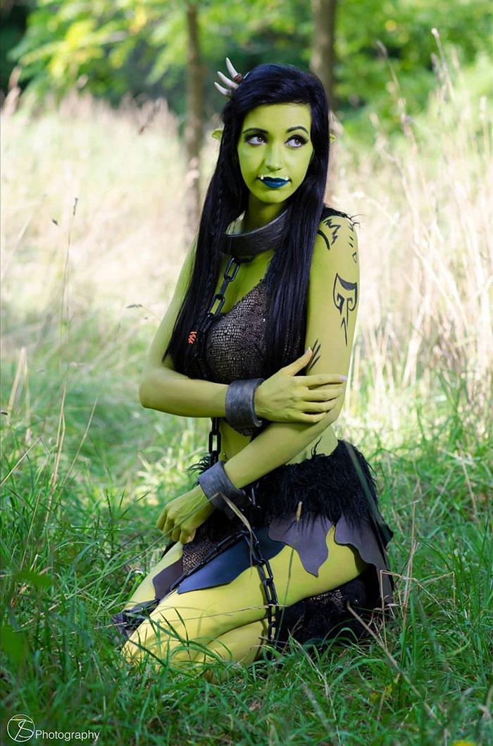 Garona from Warcraft Cosplay