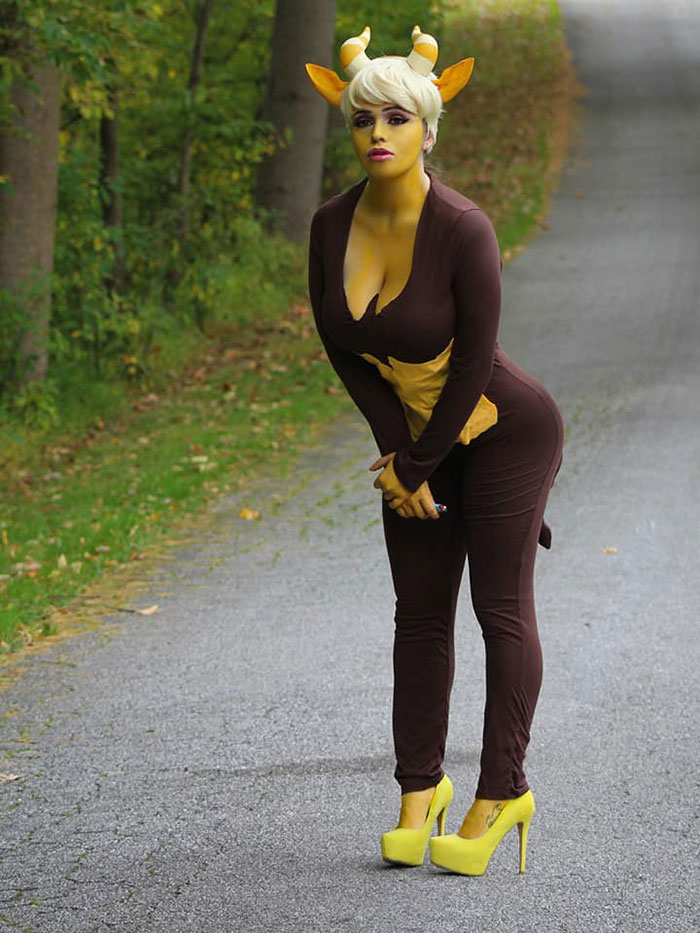 Mona the Hormone Monstress from Big Mouth Cosplay