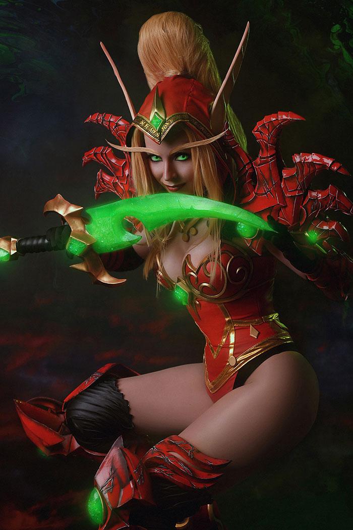 Valeera Sanguinar from World of Warcraft Cosplay