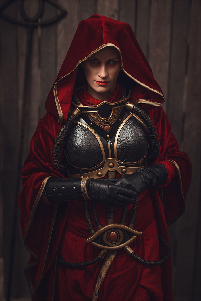 Astropath from Warhammer 40k Cosplay