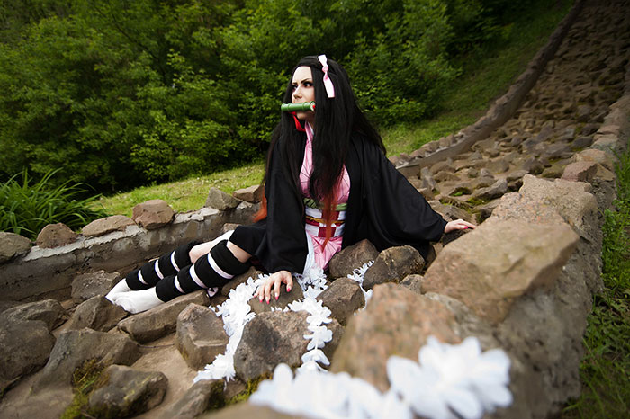 Nezuko Kamado from Demon Slayer: Kimetsu no Yaiba Cosplay