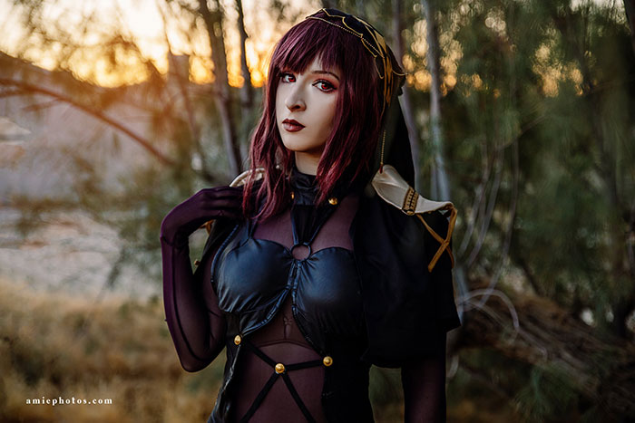 Scáthach from Fate/Grand Order Cosplay