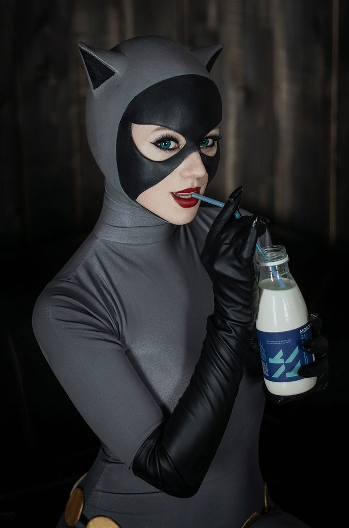 Catwoman from Batman: The Animated Series Cosplay