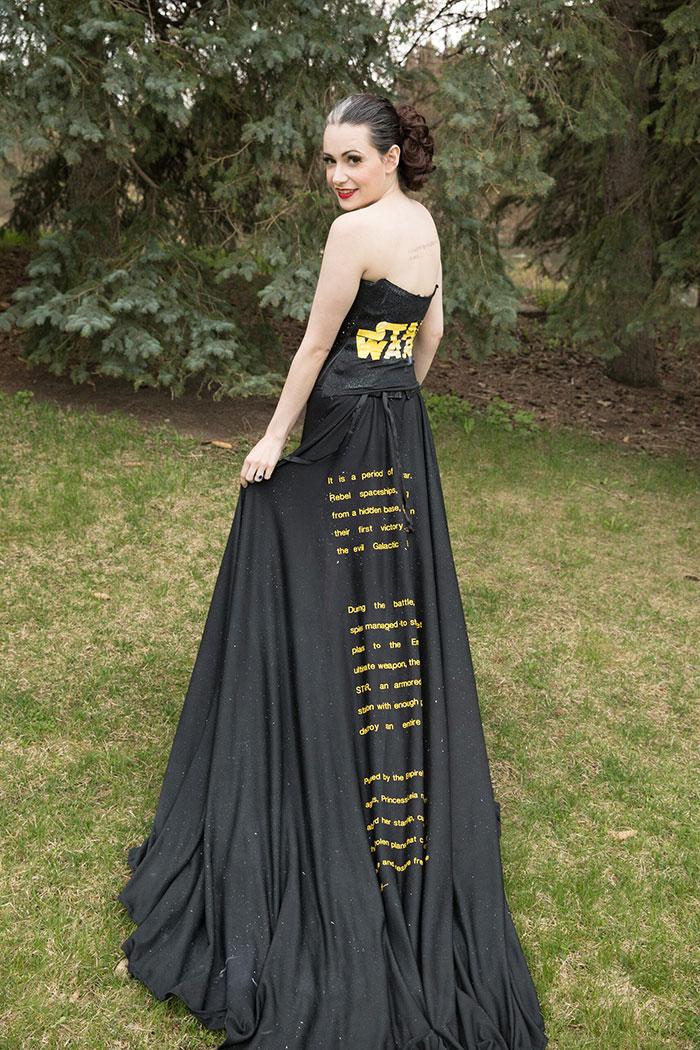 Star Wars Opening Crawl Dress