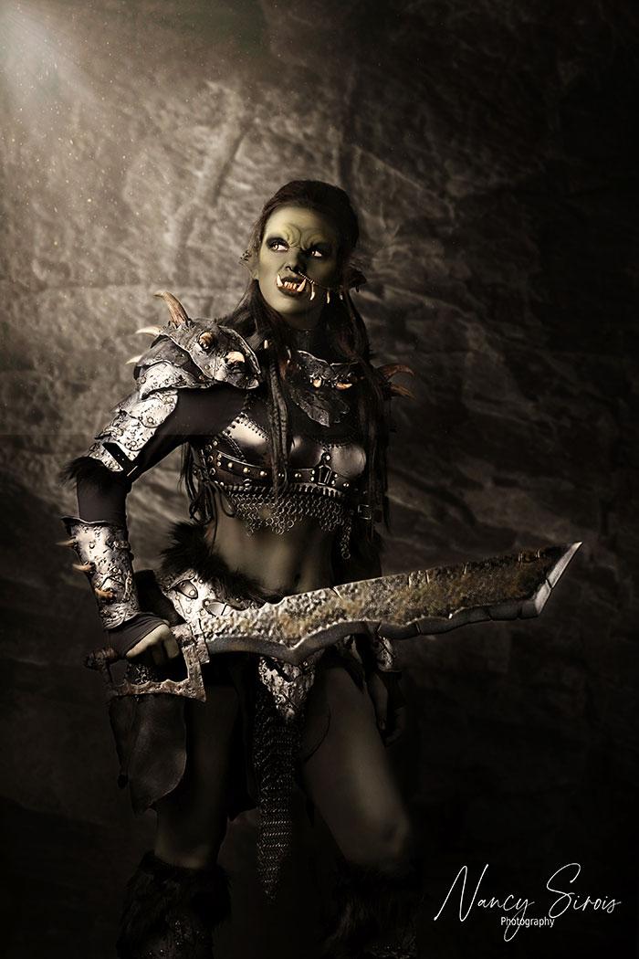 Orc Fantasy Cosplay