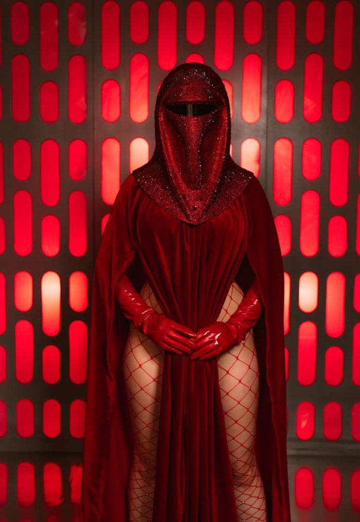 Red Guard from Star Wars Cosplay