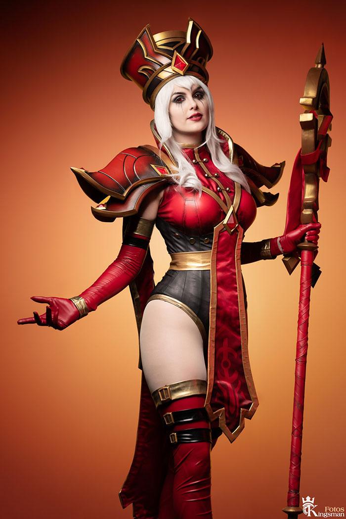 Sally Whitemane from World of Warcraft Cosplay
