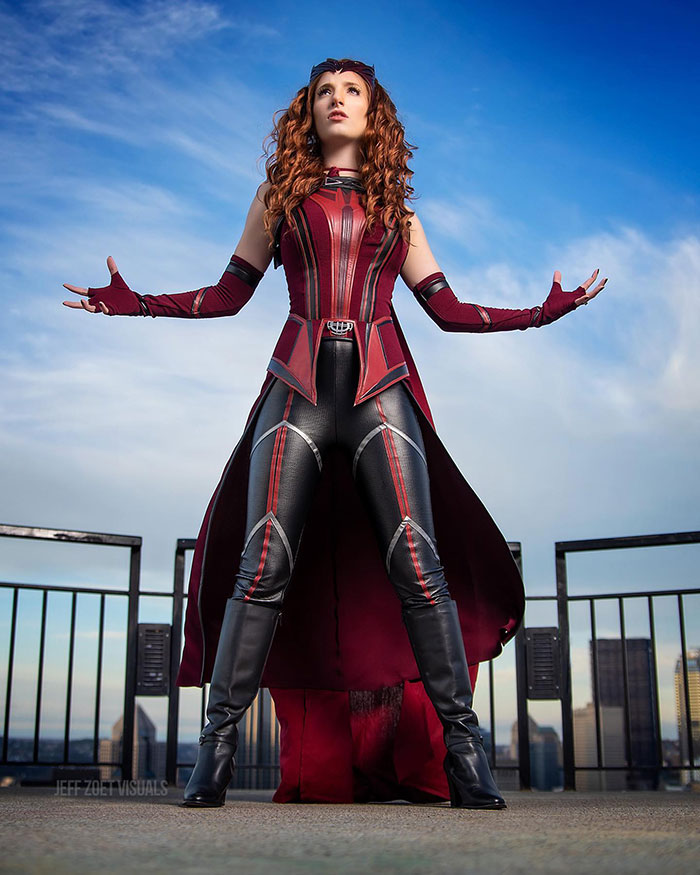 Scarlet Witch from WandaVision Cosplay