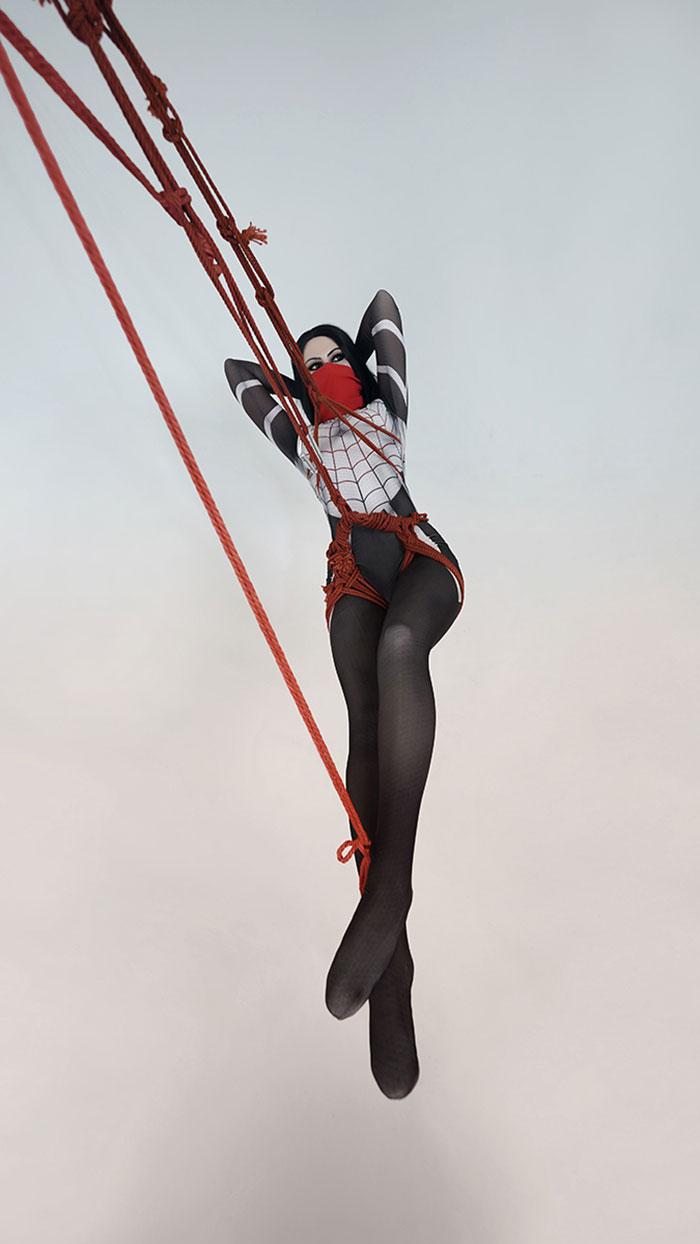 Silk from Marvel Comics Cosplay
