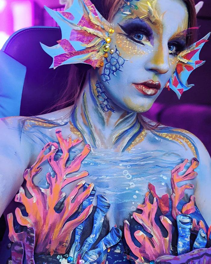 Siren Body Paint