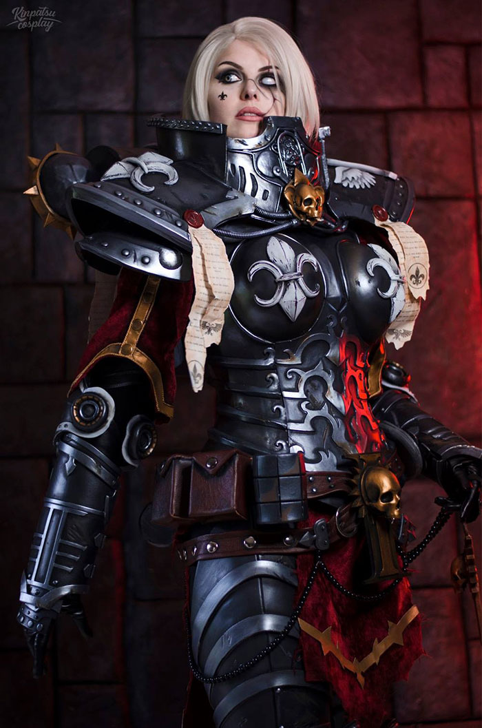 Sister of Battle from Warhammer 40k Cosplay