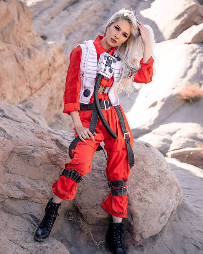 X-Wing Pilot from Star Wars Cosplay