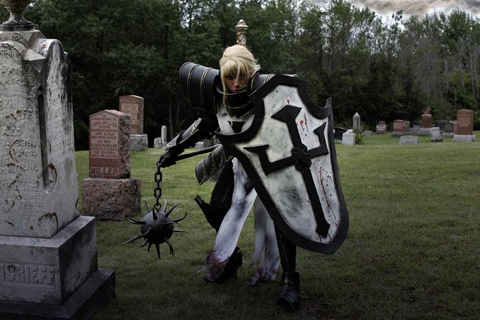 Crusader from Diablo III Cosplay