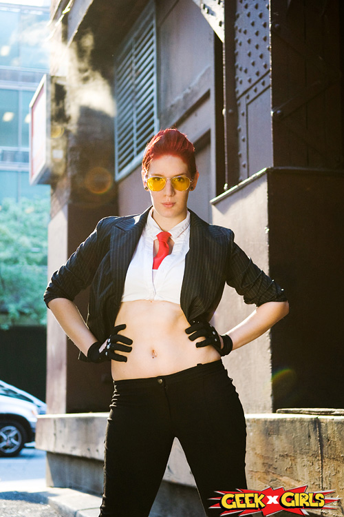 Crimson Viper Street Fighter Cosplay