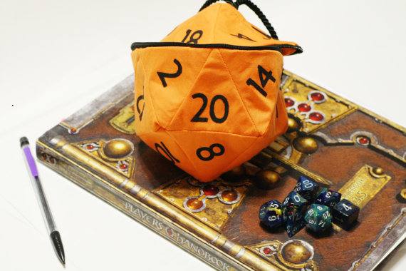 D20 Dice Bags by Dice Bag Chick