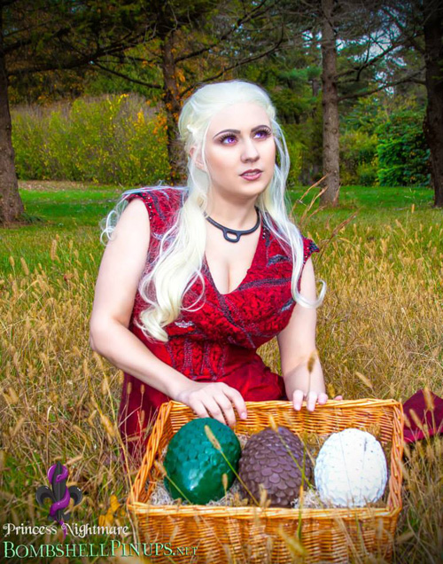 Red Daenerys Game of Thrones Cosplay