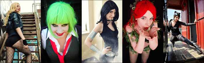Geek Girl DC Cosplays